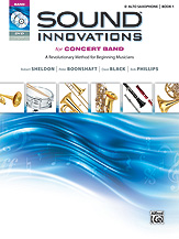 Sound Innovations Alto Sax Book 1