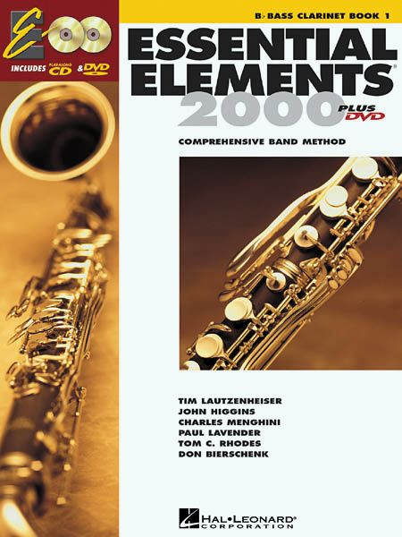 Hal Leonard Essential Elements For Band Bk 1 Bass Clarinet