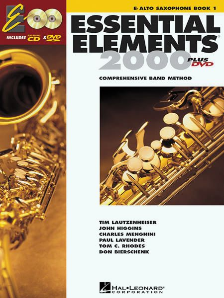 Hal Leonard Essential Elements For Band Bk 1 Alto Saxophone