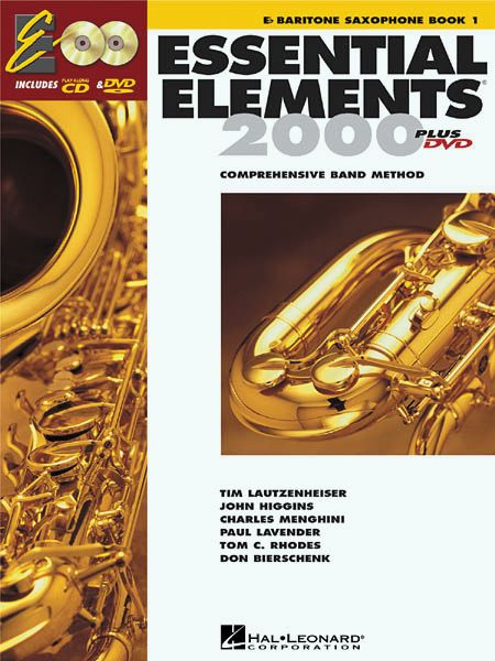 Hal Leonard Essential Elements For Band Bk 1 Baritone Saxophone