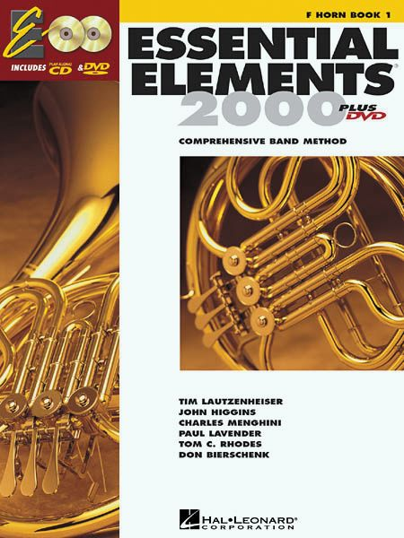Hal Leonard Essential Elements For Band Bk 1 French Horn