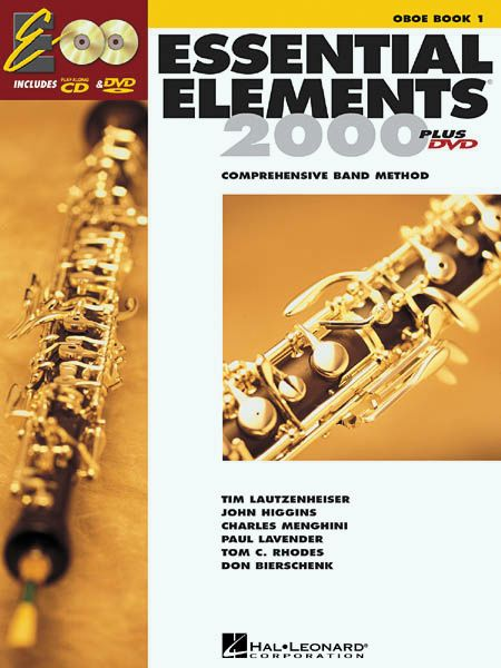 Hal Leonard Essential Elements For Band Bk 1 Oboe