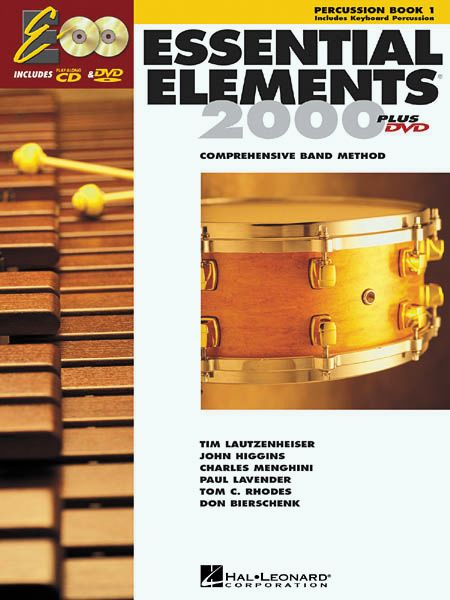 Hal Leonard Essential Elements For Band Bk 1 Percussion