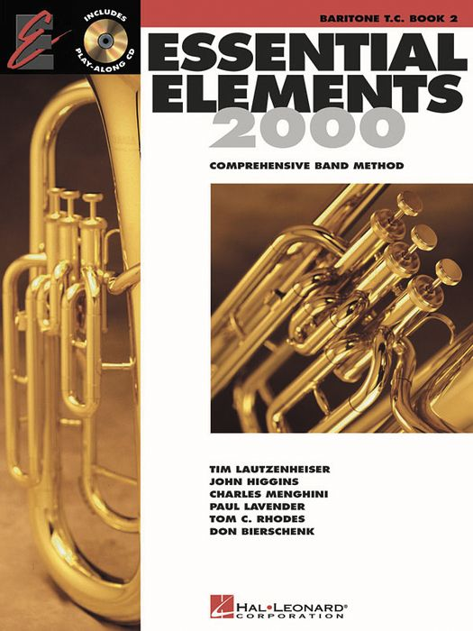 Hal Leonard Essential Elements For Band BK 2 Baritone TC