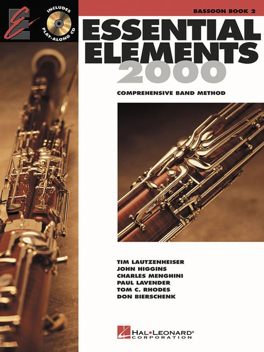 Hal Leonard Essential Elements For Band Bk 2 Bassoon
