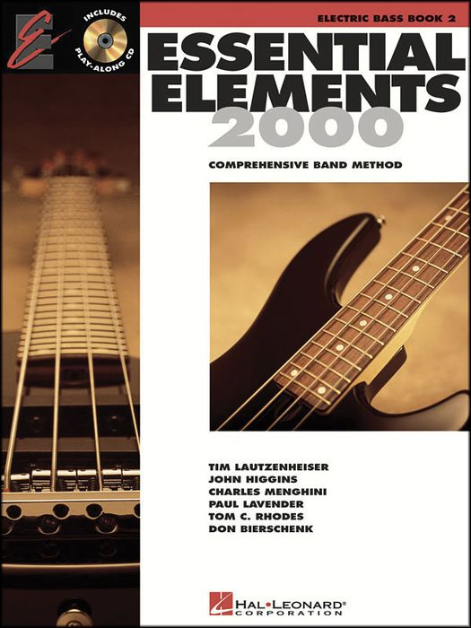 Hal Leonard Essential Elements For Band Bk 2 Elec. Bass