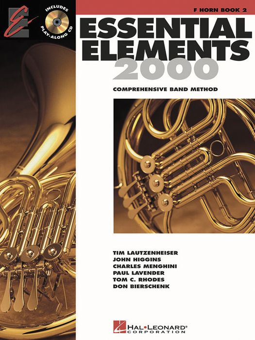 Hal Leonard Essential Elements For Band Bk 2 French Horn
