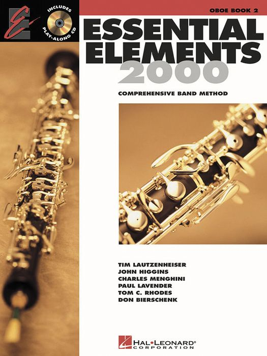 Hal Leonard Essential Elements For Band Bk 2 Oboe