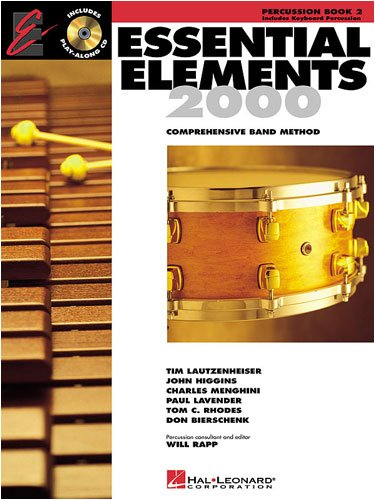 Hal Leonard Essential Elements For Band Bk 2 Percussion