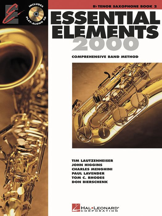 Hal Leonard Essential Elements For Band  Bk 2 Tenor Saxophone