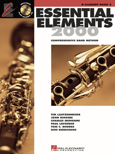 Hal Leonard Essential Elements For Band Bk 2 Clarinet