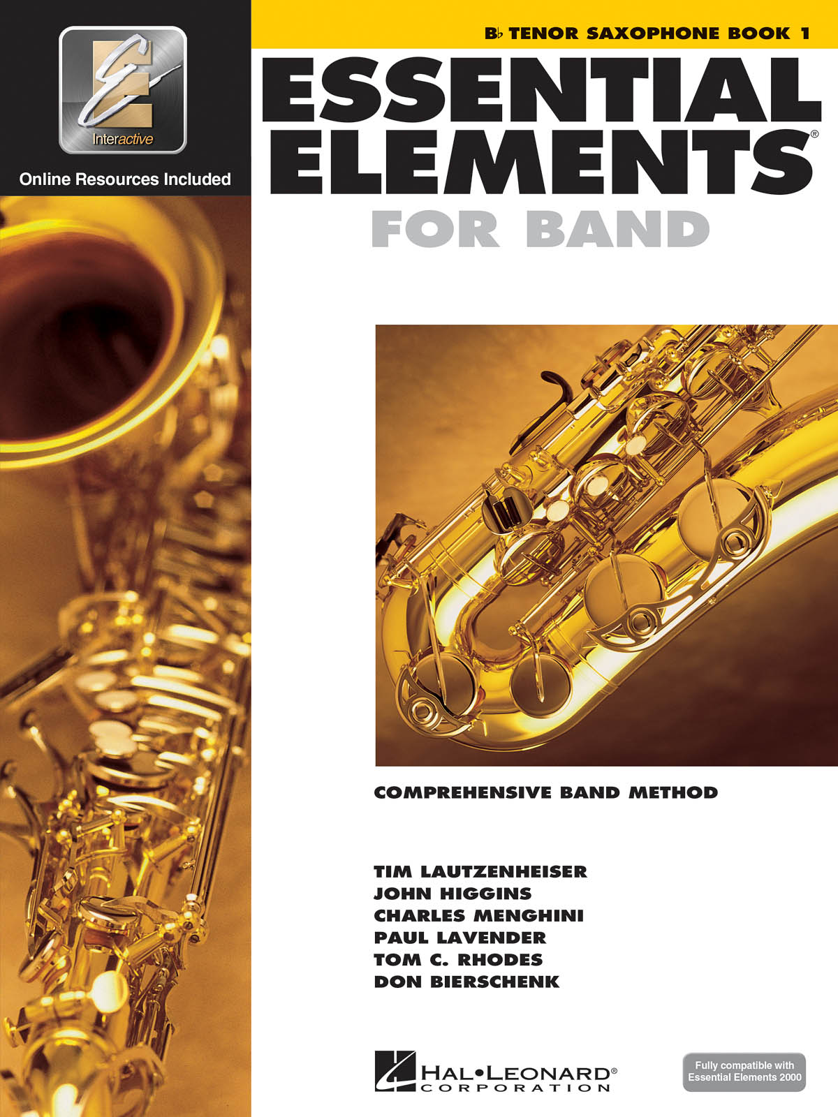 Hal Leonard Essential Elements For Band  Bk 1 Tenor Saxophone