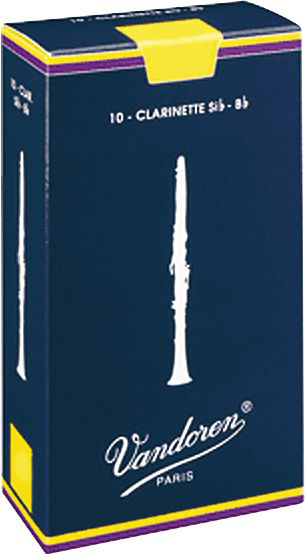 Vandoren Bb Clarinet Reeds Strength 3.5